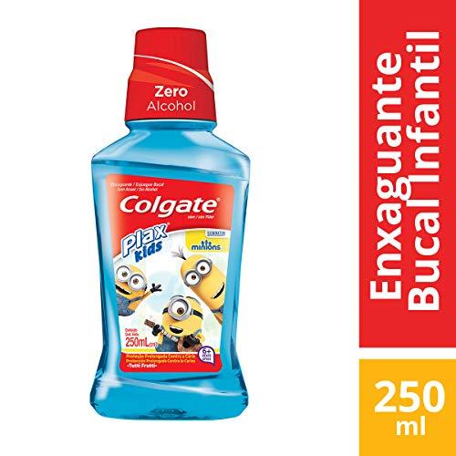 Colgate - Enjuague Bucal Plax Kids Minions 250ml