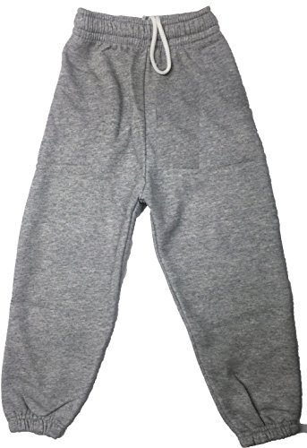 Ayra-Pantaloni-da-tuta-sportiva-per-jogging-per-bambini-in-pile-di-poliestere-adatti-per-la-scuola-Grigio-2-3-anni