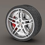 BMW 3 Series Silver / Grey Rimblades Alloy Wheel Edge Ring Rim Protectors Tyres Tire Guard Rubber Moulding