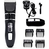 ARCESS Rechargeable Cordless Dog Grooming Clippers Professional Hair Clippers for Small Medium Large Dogs Cats, Pet Grooming Kit