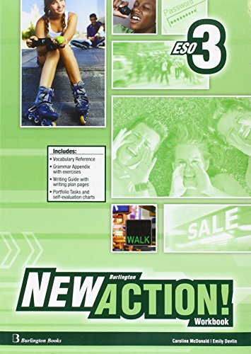 New Burlington Action 3 Workbook + Language Builder