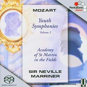 Mozart: Youth Symphonies, Vol. 2 [Hybrid SACD]