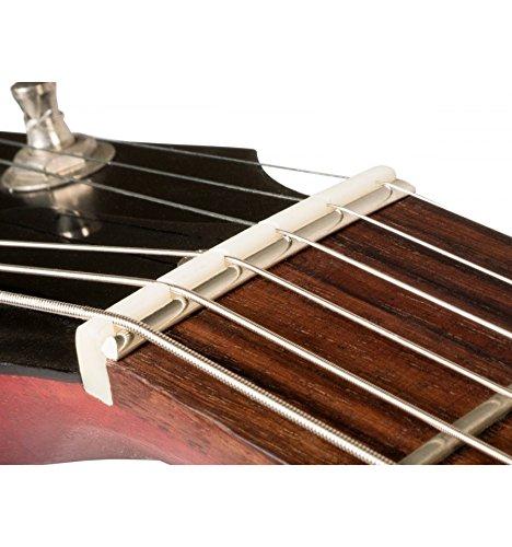 Cejuela pré-entaillé de repuesto para guitarra de tipo Gibson ZS-1