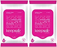 KeepSafe by Marico Intimate Wipes for Women - 10 Wipes (Pack of 2)
