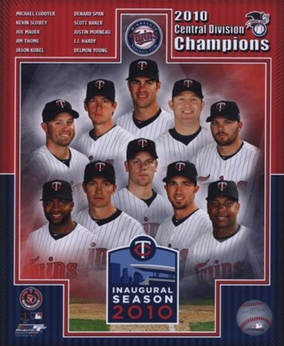 The Poster Corp Minnesota Twins 2010- AL Central Composite- Champions Photo Print (20,32 x 25,40 cm) -