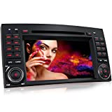 XM-03Z Autoradio passend für Mercedes W169 W245 W906 B-Klasse A-Klasse I mit GPS Navigation I Bluetooth Freisprecheinrichtung I 7'' / 18cm Touchscreen Bildschirm I USB I Micro SD I AUX I 2 DIN