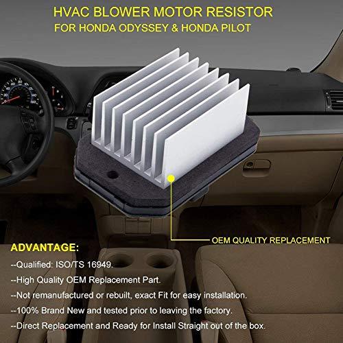 PerGrate 79330-SDG-W41 Moteur de Ventilateur pour Honda Odyssey CRV Civic Element 03-11
