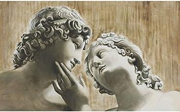 Mariani Fresken–Giclee von zwei Liebhaber