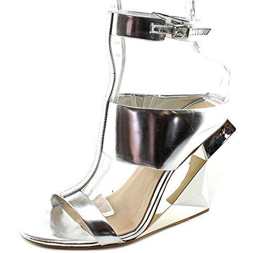 bcbg-max-azria-noella-damen-us-65-silber-keilabsatze-sandale