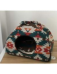GZDXHN Casa para Perros Casa para Gatos Cuatro Estaciones Gato Universal Nido Perrera Estera para Gatos