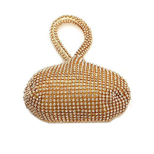 HBeauty , Damen Clutch Gold