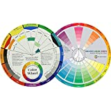 ArtBee Color Wheel Pocket Guide with Gray Scale Value Finder - for Both The Amateur and Professional Artists