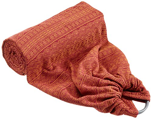 Didymos 20095 Babytrage DidySling, Modell Indio rubin-mandarine