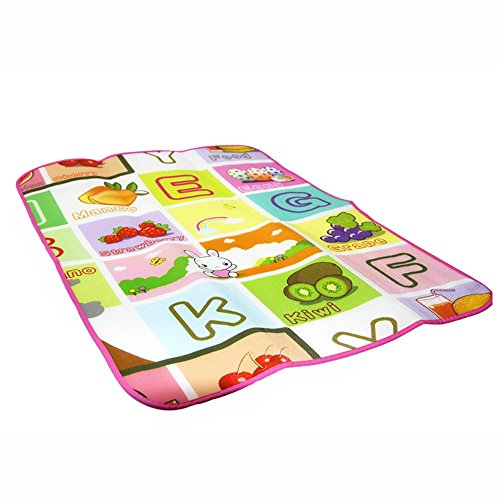 Baby Kids Toddler Crawl Play Game Picnic Carpet Beach Electronic Letters Toys