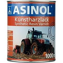 b5a55ff0a63f2 ASINOL FAHRGESTEL L SCHWARZ 1.000 ml Kunstharzlack Farbe Lack 1l Liter Dose