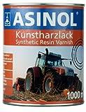 ASINOL HANOMAG GRÜN-BLAU 1.000 ml Kunstharzlack Farbe Lack 1l Liter Dose
