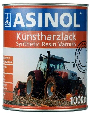 Preisvergleich Produktbild ASINOL LIEBHERR GELB 1.000 ml Kunstharzlack Farbe Lack 1l Liter Dose