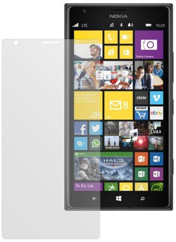 dipos I 2X Schutzfolie matt passend für Nokia Lumia 1520 Folie Bildschirmschutzfolie