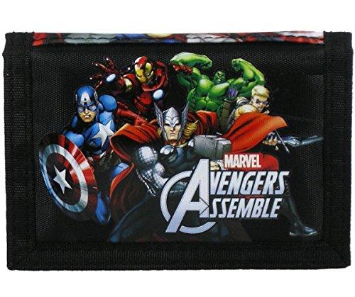 Preisvergleich Produktbild Maxi & Mini Portemonnaie Geldbörse mit mehreren Fächern, Avengers Marvel, Geschenkidee