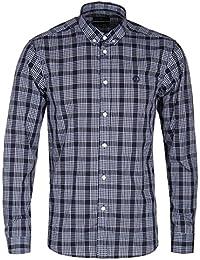 Henri Lloyd Men's Queensbury Regular Shirt In Navy