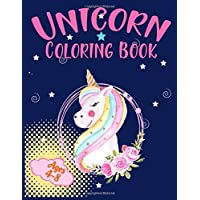 Unicorn coloring book: Magical Unicorn Activity Book for Inspirational Career Coloring Book for Girls Ages 4-8 and Above