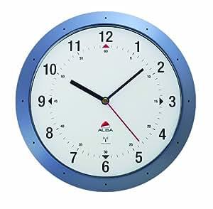 Alba hortime orologio da parete radiocontrollato blu for Orologio da parete radiocontrollato