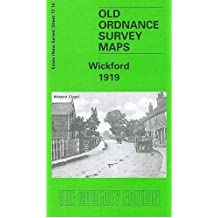 Wickford 1919: Essex Sheet 72.16 (Old O.S. Maps of Essex)
