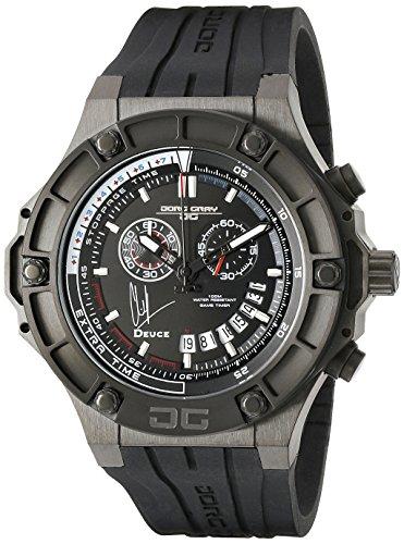 Jorg Gray JG2500-22 - Reloj cronógrafo de cuarzo para hombre con correa de piel, color negro