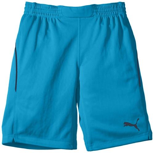 PUMA Kinder Hose GK Shorts Torwarthose, Fluo Blue, - Puma Cell Dry