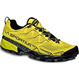 La Sportiva Akyra, Zapatillas de Trail Running para Hombre, Amarillo (Butter), 43 EU