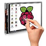 Quimat Raspberry Pi 3 Écran,LCD TFT 3,5 pouces Compatible Raspberry Pi3 2 Modèle B B+ A A+,Touch Screen for Raspberry Pi (QSC06-UK-FBA)