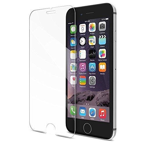 (scratch terminator) iPhone 5/5S/5C con pellicola proteggi schermo in vetro temperato a prova di esplosione 9 ore durezza anti-shock