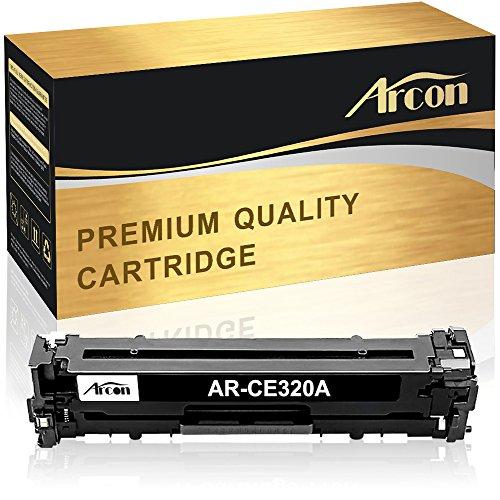 Arcon Kompatibel Druckerpatrone für HP 128A CE320A Schwarz für HP Color Laserjet Pro CP1525 CP1525N CP1525NW;HP Laserjet Pro CM1415 CM1415FN CM1415FNW MFP Tonerkartusche