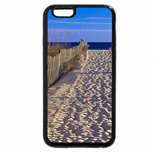 iPhone 3S/iPhone 6Coque (Noir) Marche Vers Paradis...