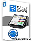 WINDOWS Kassensoftware EXPRESSKASSE LITE für Einzelhandel: Kiosk, Imbiss, Bar GDPdU KONFORM