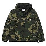 Herren Jacke Carhartt WIP Nimbus Pullover Jacke L camo combat green