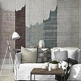 AZZJTapete Moderne Einfach Tv Hintergrund Tapete Malen Wohnzimmer Farbigen Wand,Leinwand