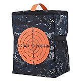 Garosa Tragbar Zielbeutel Aufbewahrungstasche Kugel Lagerung Tragen Ausrüstung Rucksack Tasche Kinder Zielbeutel für Nerf N-Streik Elite