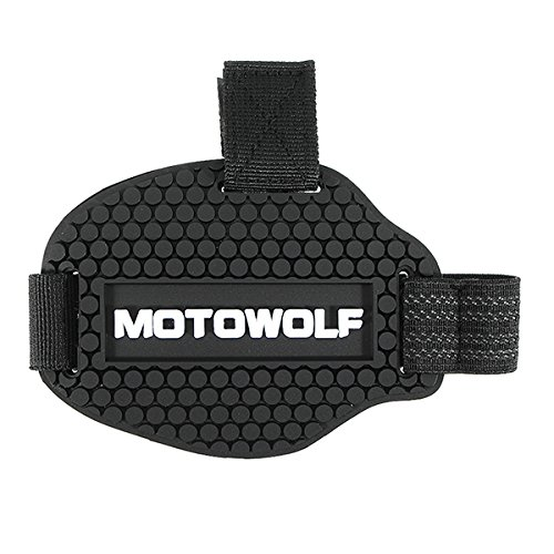 Alamor Moto Shift Garde Chaussures de Protection Housse protectrice Noir