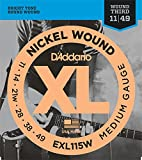 D'Addario EXL115W Set Corde Elettrica EXL