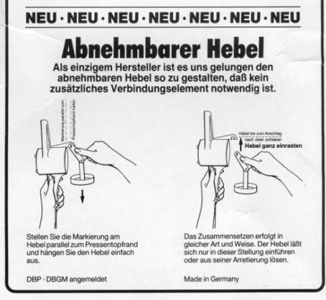 Kull Spätzle-Schwob Spätzlepresse - 4