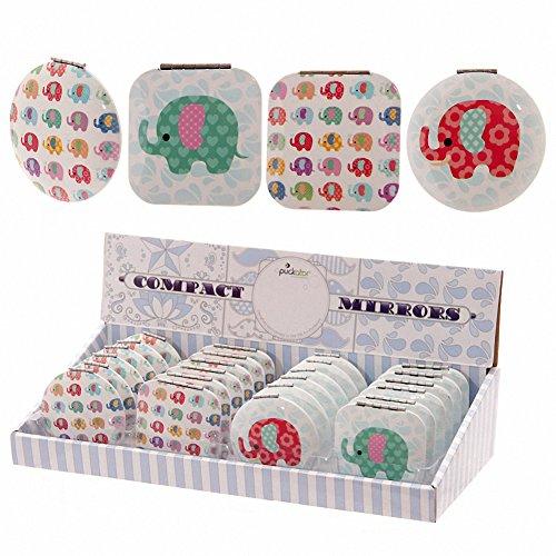 Lauren Billingham Éléphant Miroir compact, cadeaux, et, cartes de Pâques, Idée Cadeau, occasion, Idée Cadeau,