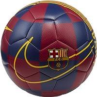 Nike FCB NK PRSTG, Pallone da Calcio Unisex – Adulto, Deep Royal Blue/Noble Red/(University Gold), 5