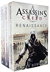 Assassins Creed 3 Books Collection Set by Oliver Bowden (Renaissance, Brotherhood, The Secret Crusade)