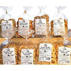 Taralli Pugliesi | Prodotto da forno ideale per snack | Vi proponiamo taralli all'olio, al seme di finocchio, integrali, cime di rape, pizza | Prodotto artigianale