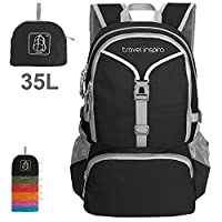 Travel Inspira Lightweight Packable Backpack Hiking Daypack Handy Foldable Camping Outdoor School Cycling 35 Liters