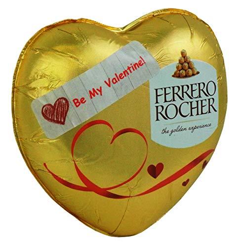 Ferrero Rocher Cadeaux St Valentin, Coeur consistant en chocolat de Ferrero Rocher 125g