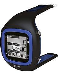 GPS-Sportuhr mit Soft-Brustgurt und Herzfrequenzmessung (schwarz/blau)