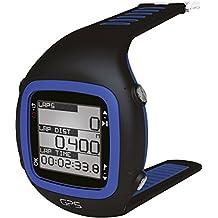 Millenium, Orologio sportivo GPS con cardiofrequenzimetro a fascia morbida (nero / blu)