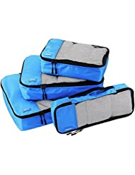 AmazonBasics Packtaschen - 4-teiliges Set